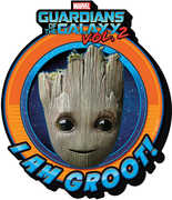 GOTG Vol 2 Baby Groot Crest Funky Chunky Magnet