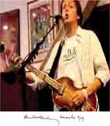 Amoeba Gig , Paul McCartney