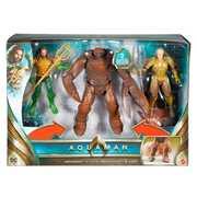 Mattel - Aquaman - 6 Inch Figure Battle In A Box