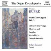 Works for Organ 5 , Robert Delcamp