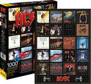AC/ DC Discography Album Cover Collection 1000 pc Jigsaw Puzzle
