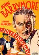 A Bill Of Divorcement , John Barrymore