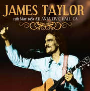 13th May 1981 Atlanta Civic Hall Ga , James Taylor