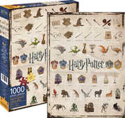 Harry Potter Icons 1,000pc Puzzle