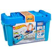 Mattel - Hot Wheels - Track Builder Multi Loop Box Playset