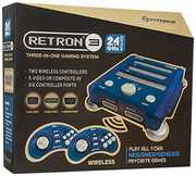 Hyperkin RetroN 3 Gaming Console 2.4 GHz Edition - Bravo Blue