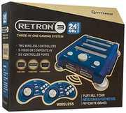Hyperkin RetroN 3 Gaming Console 2.4 GHz Edition - Bravo Blue