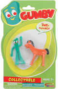 Gumby and Pokey Mini Bendable Figure Pair