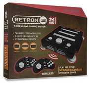 Hyperkin RetroN 3 Gaming Console 2.4 GHz Edition - Onyx Black