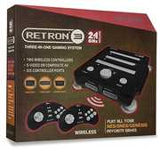 Hyperkin RetroN 3 Gaming Console 2.4 GHz Edition - Onyx Black