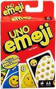 Mattel Games - UNO Emoji Card Game