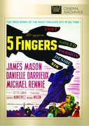 5 Fingers , James Mason