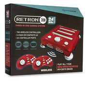 Hyperkin RetroN 3 Gaming Console 2.4 GHz Edition - Lazer Red