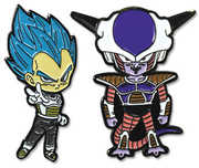 Dragon Ball Super - Ssgss Vegeta & Frieza Pins