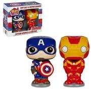 FUNKO POP! HOME: Captain America & Iron Man - Salt N' Pepper Shakers