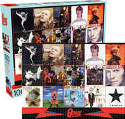 David Bowie Albums 1,000pc Puzzle