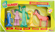 Gumby and Friends Bendable Figure Boxed Set