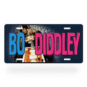 Bo Diddley License Plate