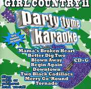 Party Tyme Karaoke: Girl Country 11 , Various Artists