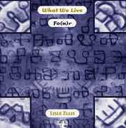 What We Live Fo(u)r [Import]
