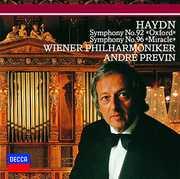 Haydn: Symphonies Nos.92 & Nos.96 [Import] , Andre Previn