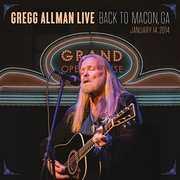 Gregg Allman Live: Back To Macon, GA [2CD/ 1DVD]