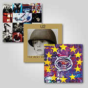 U2 2LP Reissue Bundle , U2