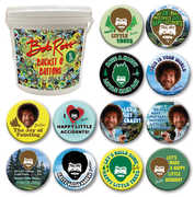 Bob Ross 144 Pc Bucket O' Buttons