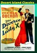 Divorce of Lady X , Merle Oberon