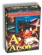 A is for Arson - Alphabet Mystery Puzzle