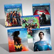 DC Films Blu-Ray 3D Bundle