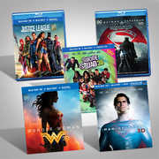 DC Films Blu-Ray 3D Bundle