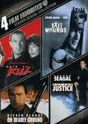 4 Film Favorites: Steven Seagal Collection , Steven Seagal