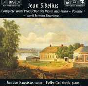 Comp Youth Production for Violin & Piano 1 , J. Sibelius