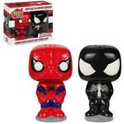 FUNKO POP! HOME: Spider-Man and Black Suit Spider-Man - Salt N' Pepper Shakers (Set of 2)