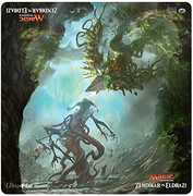 Magic the Gathering: Zendikarvs Eldrazi Duel Decks 24 x 24 DuelPlaymat