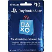 Playstation Network $10 Gift Card