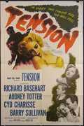 Tension Vintage Movie Poster
