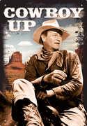 John Wayne Cowboy Up Tin Sign