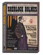 Sherlock Holmes: The Archive Collection - Volume One , Arthur Wontner