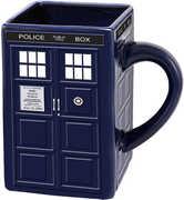 Doctor Who Tardis Ceramic Sculpted Mug