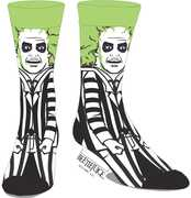 Beetlejuice 360 Character Crew Socks Men's 10-13