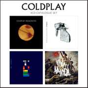 4 CD Catalogue Set , Coldplay