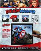 Drawmaster Marvel Avengers: Captain America, Hawkeye and Black Widow(Deluxe Set)
