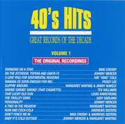 40's Pop Hits 1 /  Various , Various Artists