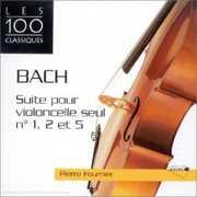 Bach J S: Clo Suites Nos 1/  2 & 5 [Import] , Pierre Fournier