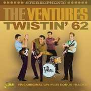 Twistin 62: Five Original LPS Plus Bonus Tracks [Import] , The Ventures