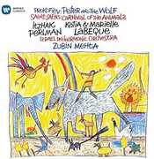 Carnival of the Animals /  Prokofiev: Peter & Wolf , Itzhak Perlman