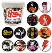 David Bowie 144 Pc Bucket O' Buttons