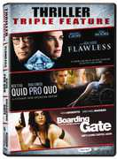 Thriller Triple Feature: Flawless /  Quid Pro Quo /  Boarding Gate , Michael Caine